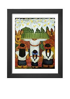 Art.com Flower Festival: Feast of Santa Anita, 1931, Framed Art Print, - Online Only