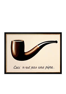 Art.com La Trahison des Images by Rene Magritte, Framed Art Print