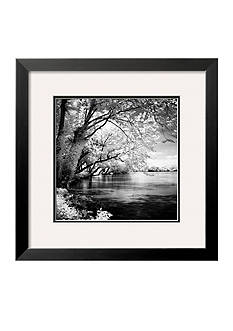 Art.com Spring on the River Square I, Framed Art Print - Online Only