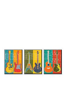 Art.com Guitar Hero, Wood Mount