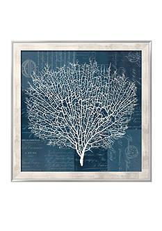 Art.com Document Sea Fern 2, Framed Giclee Print