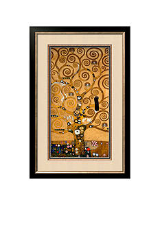 Art.com The Tree of Life, Stoclet Frieze, c.1909, Framed Giclee Print