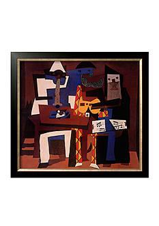 Art.com Three Musicians, c.1921, Framed Art Print, - Online Only