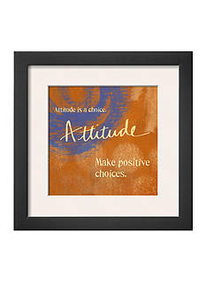 Art.com Attitude, Framed Art Print - Online Only
