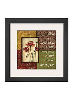 Art.com Spice 4 Patch: Where There is Hope, Framed Art Print, - Online Only
