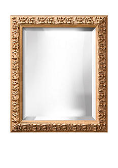 Art.com 20.8-in. W x 24.8-in. H Sofia Gold Wood Framed Mirror - Online Only