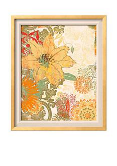 Art.com Folk Flower I, Framed Art Print - Online Only