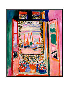 Art.com Open Window, Collioure, 1905, Wood Mount - Online Only