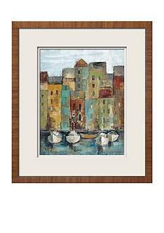 Art.com Old Town Port I, Framed Art Print - Online Only