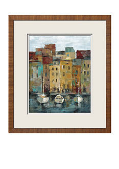 Art.com Old Town Port II, Framed Art Print, - Online Only