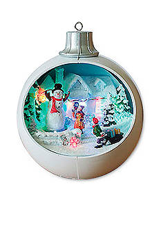 Santa's Workshop Christmas Bulb LED