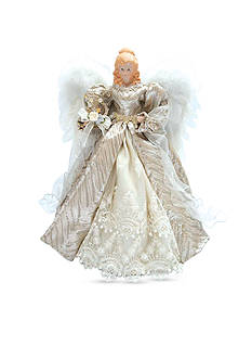 Santa's Workshop 16-in Silver Elegance Angel Tree Topper - Online Only