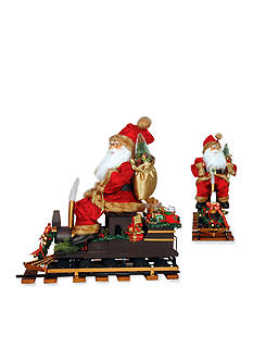 Santa's Workshop 22-in. North Pole Express Santa