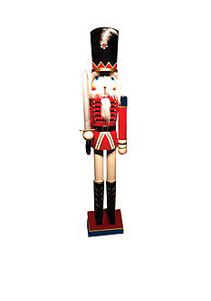 Santa's Workshop 60-in. Red Royal Guard With Sword - Online Only