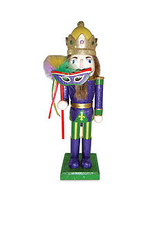 Santa's Workshop 14-in. Mardi Gras King Nc