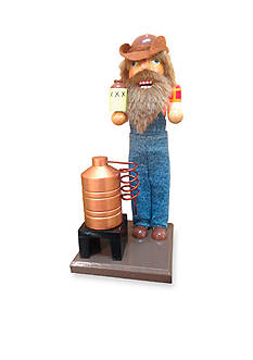 Santa's Workshop Moonshiner Nutcracker