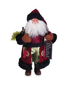 Santa's Workshop Wine Santa