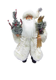 Santa's Workshop Winter White Santa