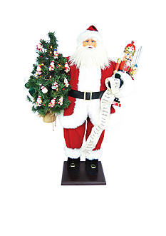 Santa's Workshop 36-in. Traditional Santa With Nutcracker