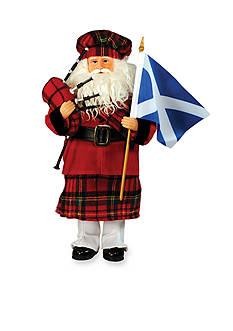 Santa's Workshop Scottish Santa