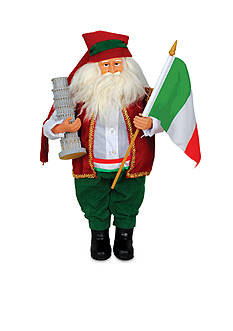 Santa's Workshop Italian Santa