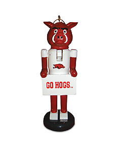 Santa's Workshop 6-In.NCAA Arkansas Razorbacks Nutcracker Ornaments. II