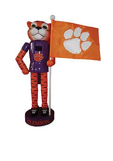 Santa's Workshop 12-in. Clemson Tigers & Flag Nutcracker