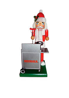 Santa's Workshop 12-in. Georgia Bulldogs Tailgating Nutcracker