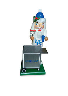 Santa's Workshop 12-in. Kentucky Wildcats Tailgating Nutcracker