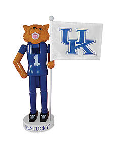 Santa's Workshop 12-in. NCAA Kentucky Wildcats & Flag Nutcracker