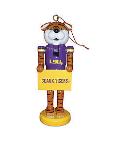 Santa's Workshop 6 LSU MASCOT NC ORN. II