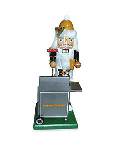Santa's Workshop 12-in. Missouri Tailgating Nutcracker
