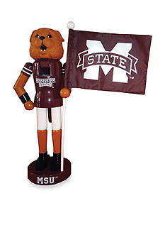 Santa's Workshop 12-in. Mississippi State Bulldogs & Flag Nutcracker
