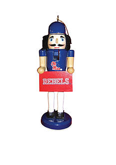 Santa's Workshop 6-In. NCAA Ole Miss Rebels Nutcracker Ornaments.II