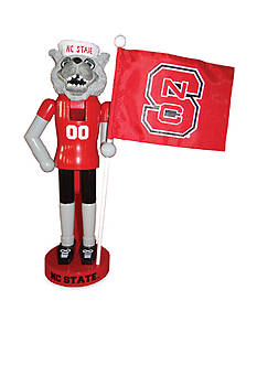 Santa's Workshop 12-In. NCAA NC State Wolfpack & Flag Nutcracker