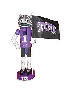 Santa's Workshop 12-in. TCU Horned Frogs Mascot Nutcracker