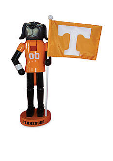 Santa's Workshop 12-in. Tennessee Volunteers & Flag Nutcracker