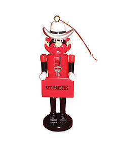 Santa's Workshop 6-in. Texas Tech Red Raiders Nutcracker Ornaments.II