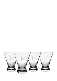 Cathy's Concepts Personalized Cosmopolitan Cocktail Glasses (Set of 4)