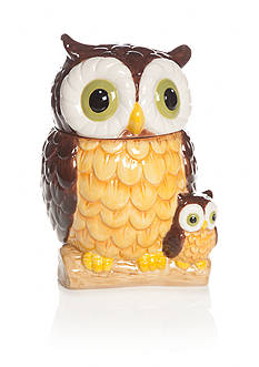 Home Accents Harvest Owl Cookie Jar