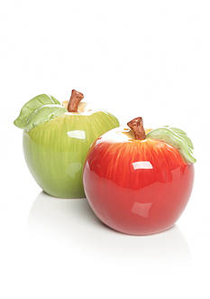 Home Accents Harvest Apple Salt & Pepper Shakers