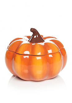 Home Accents Harvest Pumpkin Candy Bowl