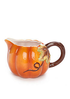 Home Accents Harvest Pumpkin Gravy Boat