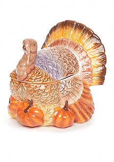 Home Accents Harvest Turkey Tureen