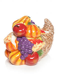 Home Accents Harvest Cornucopia Cookie Jar