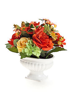 Home Accents Multi Rose Flower Pot