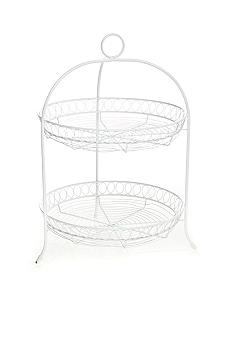 Home Accents® 2 Tier Wire Caddy