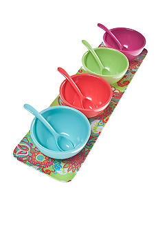 Home Accents Paisley Dip Bowl Set