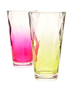Home Accents® Ombre 24-oz. Glass