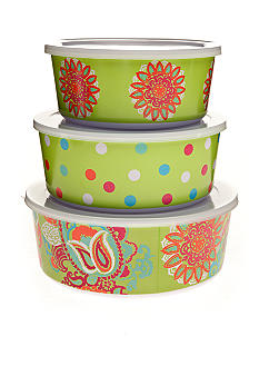 Home Accents Paisley Storage Set